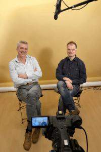 Joost Schrickx maakt met compagnon Ludo  documentaires en bedrijfsfilms