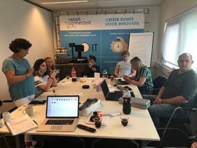 Deelnemers workshop 'filmen met de smartphone en storytelling