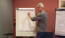 Joost Schrickx geeft workshop