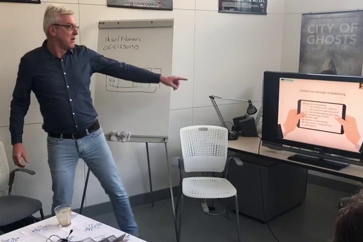 workshop storytelling en filmen met de smartphone