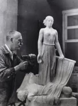 Hildo Krop - Beeld van een kunstenaar, een van de documentaires van Stichting Pelicula
