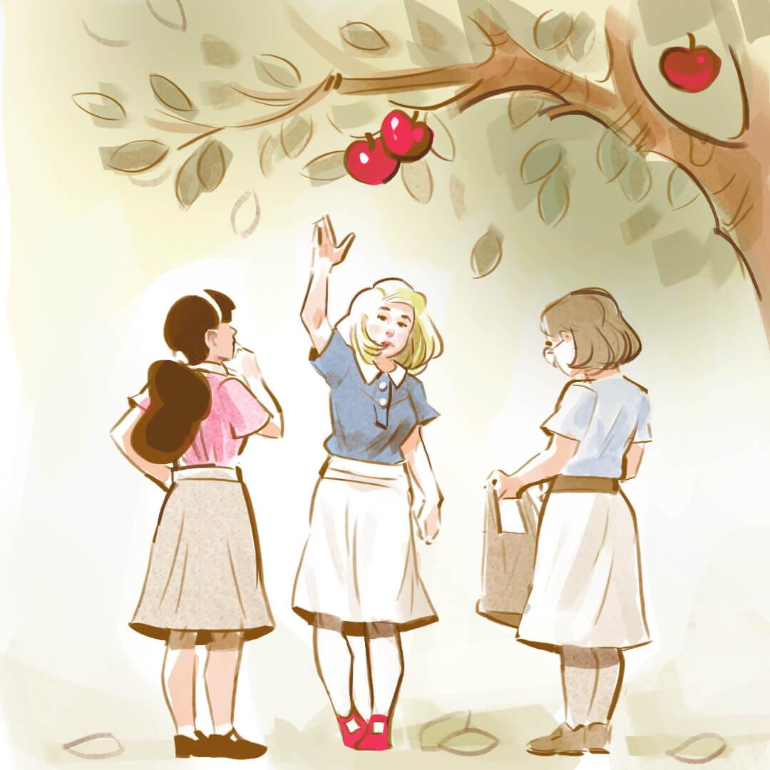 Hildpo Krop en Faun appels