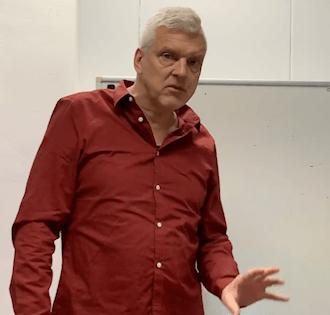 Workshops veelal gegeven door trainer Joost Schrickx
